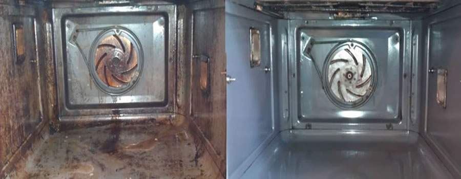 Oven Cleaning prices from £39